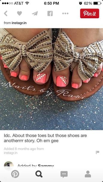 socks brown sandals brown shoes bow shoes sparkles shoes shoes
