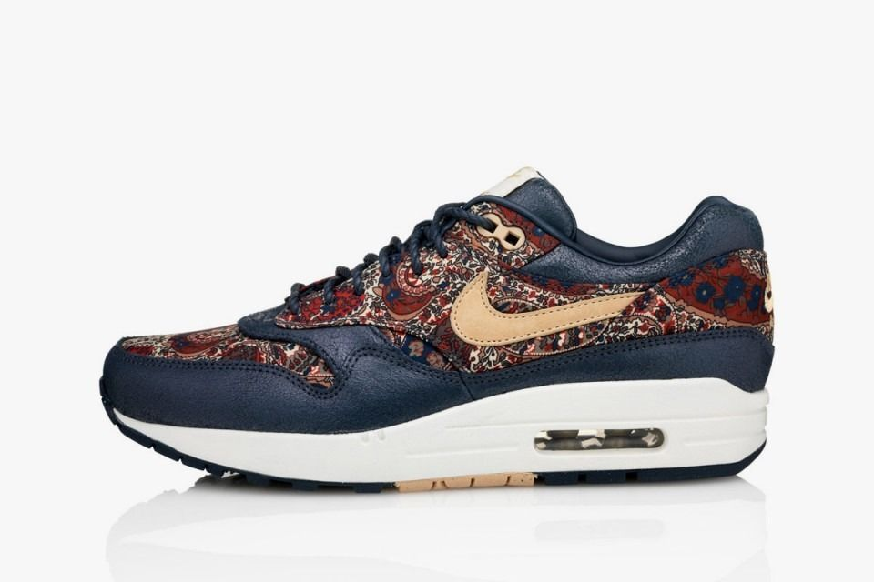 Nike Air Max 1 Lib QS Liberty Wmns US7 UK4 5 EUR38 540855 402 Navy | eBay