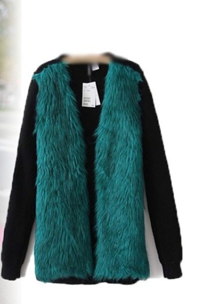coat fashion green