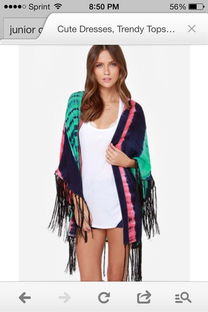 sweater long cardigan tie dye cardigan