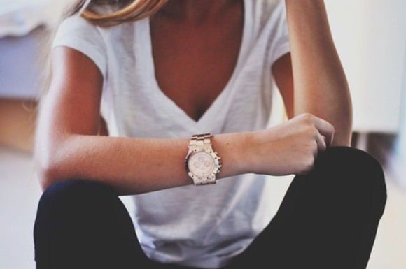 jewels watch rose gold gold rose woman watch