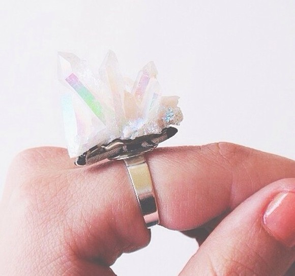 jewels quartz ring