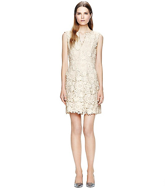 Merida Dress  | Womens The Trend: White, White, White | ToryBurch.com
