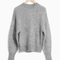 & other stories | mohair wool blend sweater | grey