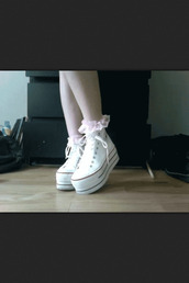 shoes,converse,chuck taylor all stars,white,cute,boss,best shoes,creepers,platform shoes,high top sneakers,platform sneakers