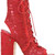 Laurence Dacade - Nelly boots - women - Calf Leather/Leather/Polyester - 38, Red, Calf Leather/Leather/Polyester