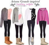 shirt,ariana grande,sweater,shoes,jeans