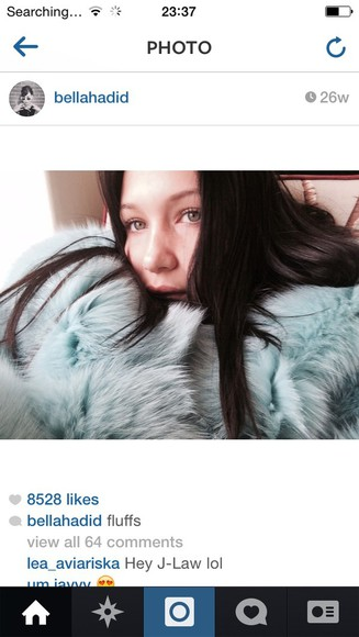 fur bella hadid