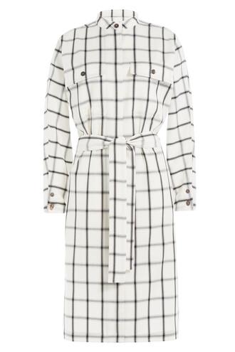 dress wool white