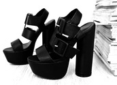 shoes,block high heels,casual heels,black heels