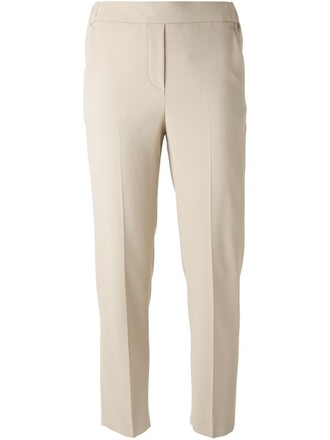 cropped women spandex nude pants
