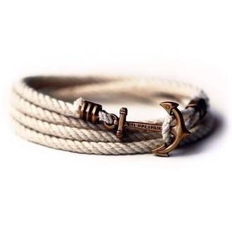 jewels anchor bracelet wrap bracelet bracelets bracelets