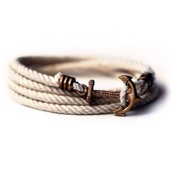bracelets wrap bracelet jewels anchor bracelet bracelets