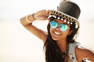 sunglasses heart sunglasses mirrored sunglasses hat burning man burning man clothing festival music festival