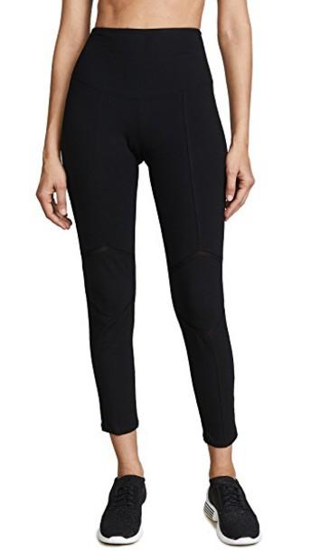Yummie leggings mesh black pants