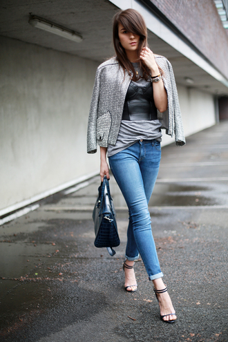 style scrapbook jacket jeans shoes t-shirt bag jewels