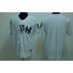 New york yankees blank home pinstripe mlb replica jersey, free shipping