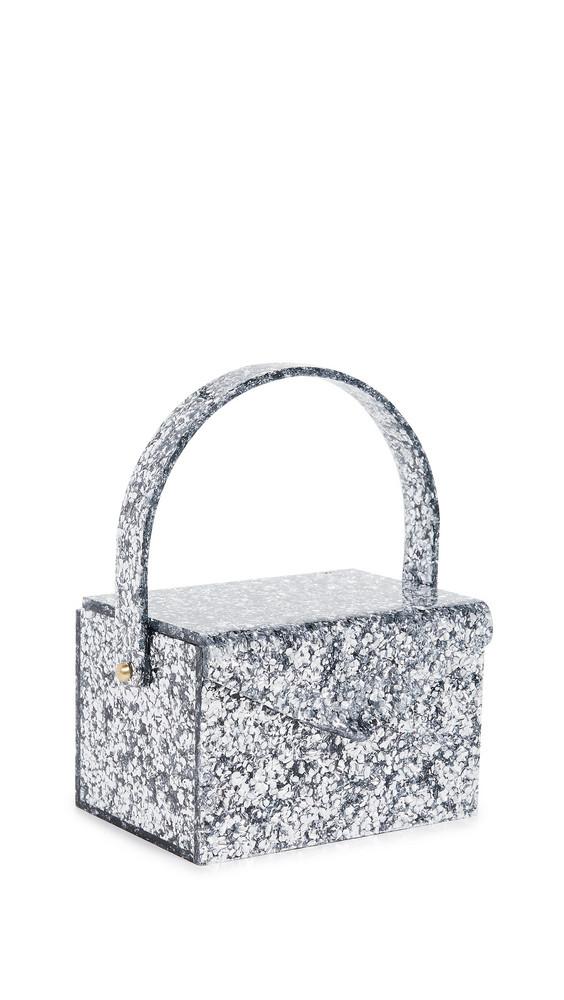 Edie Parker Gogo Bag in silver