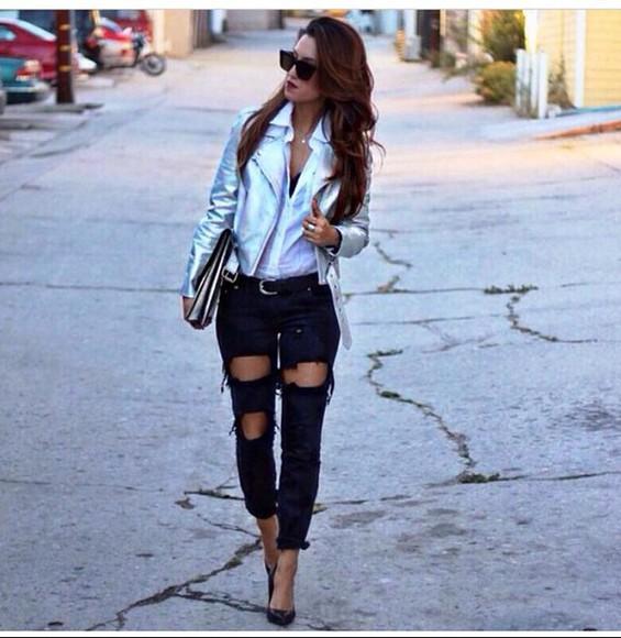jeans black pants black jeans ripped jeans