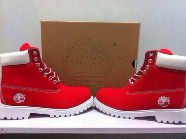 shoes red white timberlands red timberlands timberland boots red timberlands timberlands red timberlands red timberlands red timberlands black timberlands all white timberland boots need this!!!