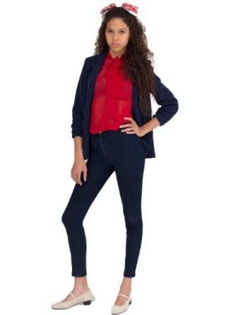 Amazon.com: American Apparel Women's Easy Jean: Clothing