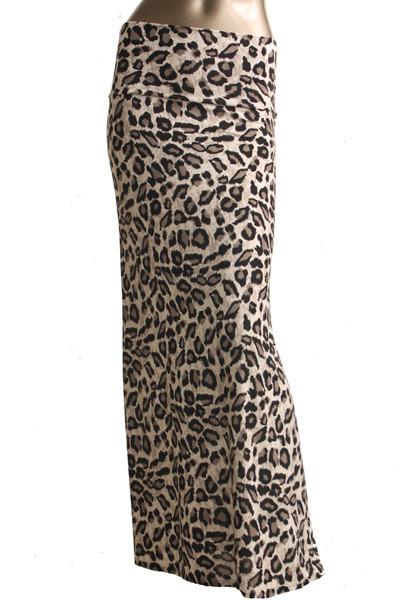 Animal Print Maxi Skirt – Betsy Boo's Boutique