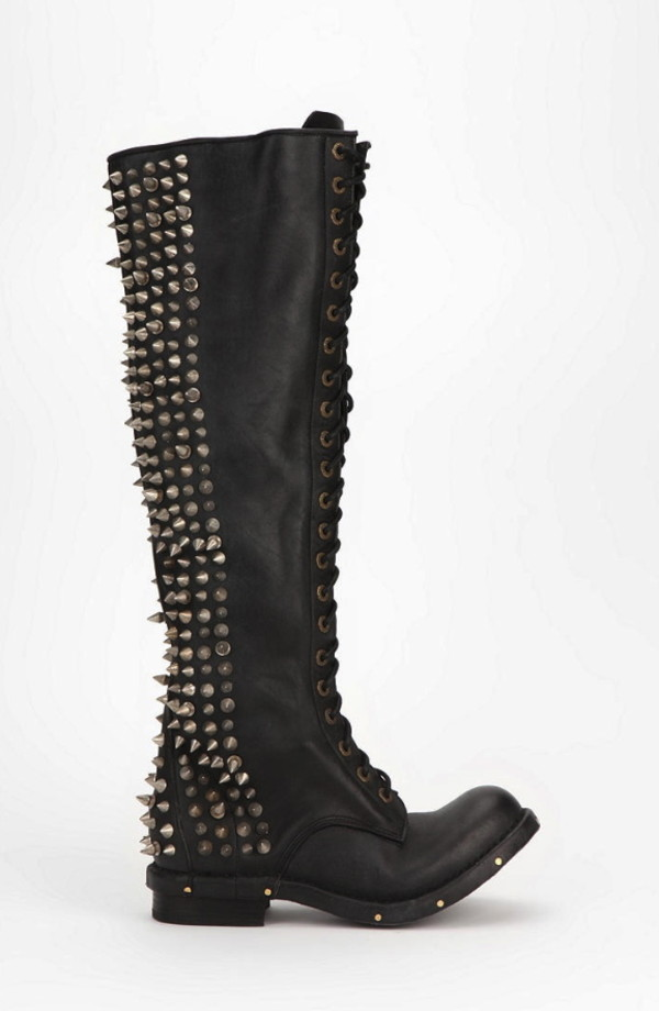 Jeffrey Campbell Studded combat boots for women-in Boots from ...