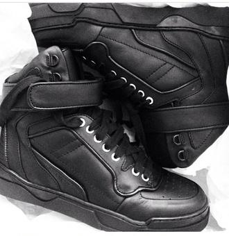 black leather sneakers nike sneakers nike high top sneakers shoes