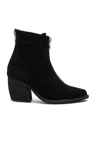 booties black shoes