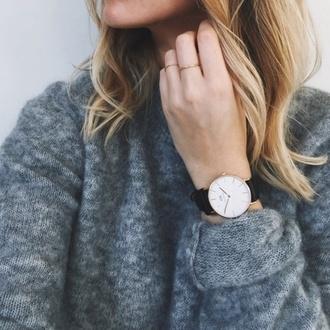 vintage watch cluse retro black classy casual vintage watch retro watch jewels sweater
