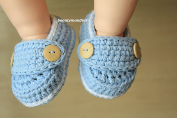 Kids Fashion Boygirl Kids Fashion Crochet Children Booties