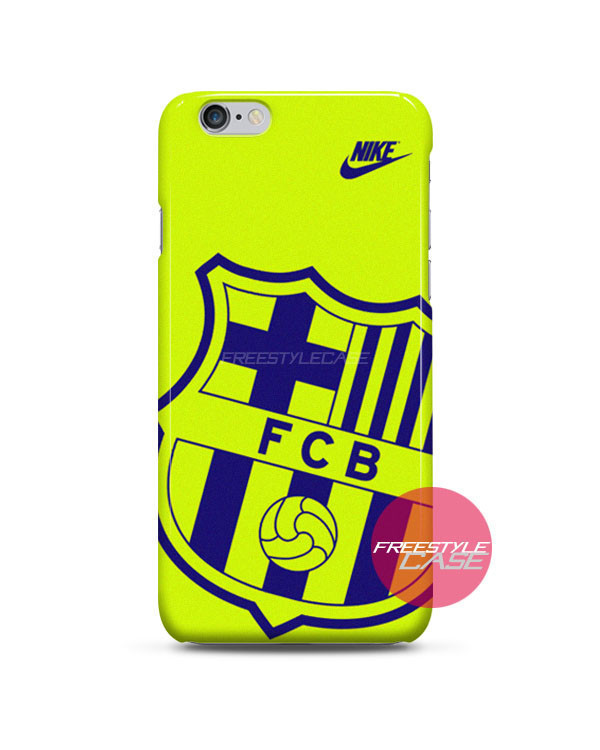Barcelona Fc Nike Green Logo Iphone Case From