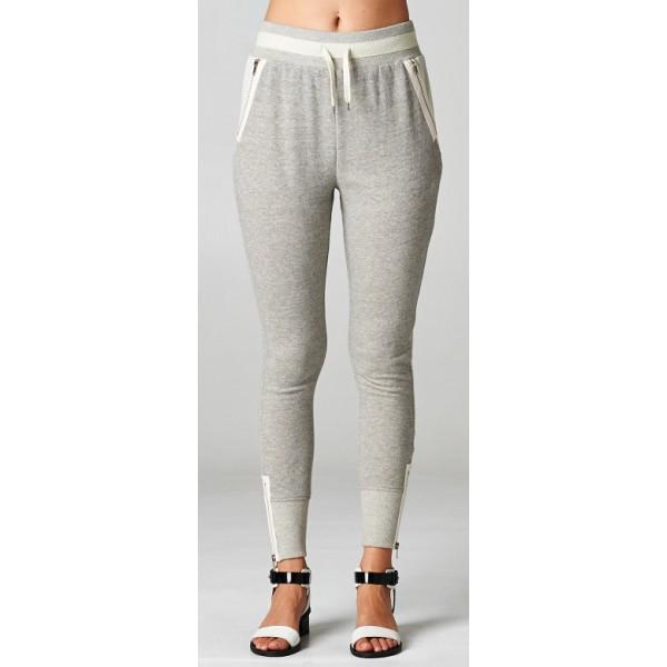 Sporty Chic Sweatpants - Grey