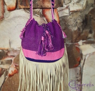 bag boho purple etnic handmade indie boho etnic fashion