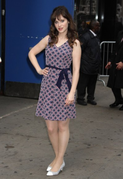 zooey deschanel dress
