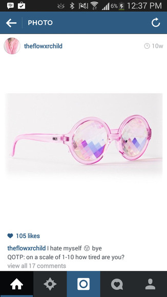 sunglasses pink sunglasses fashion beach girly