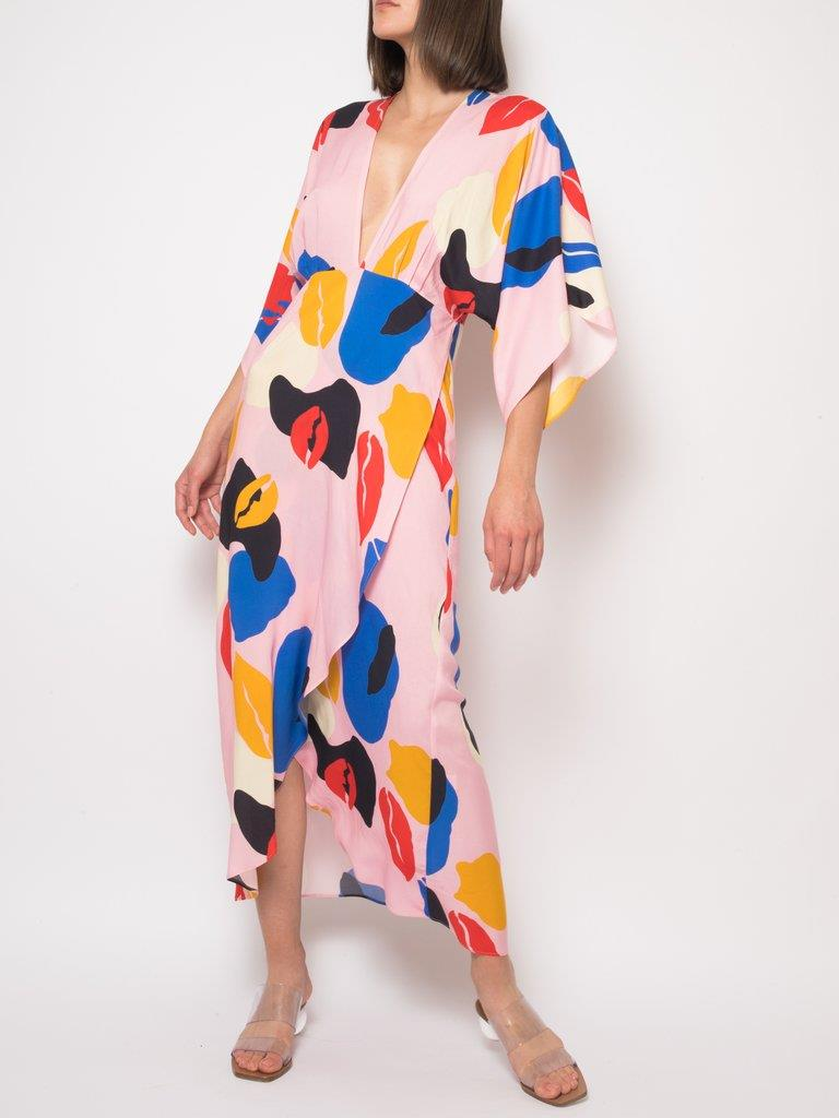 Katherine Spring Abstract Dress