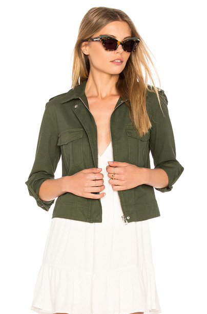BB Dakota jacket green