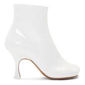 heel,heel boots,white,shoes