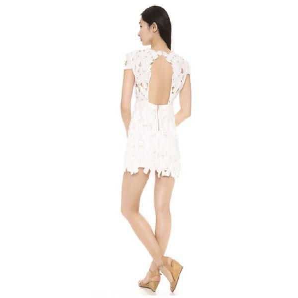 Floral lace romantic dress