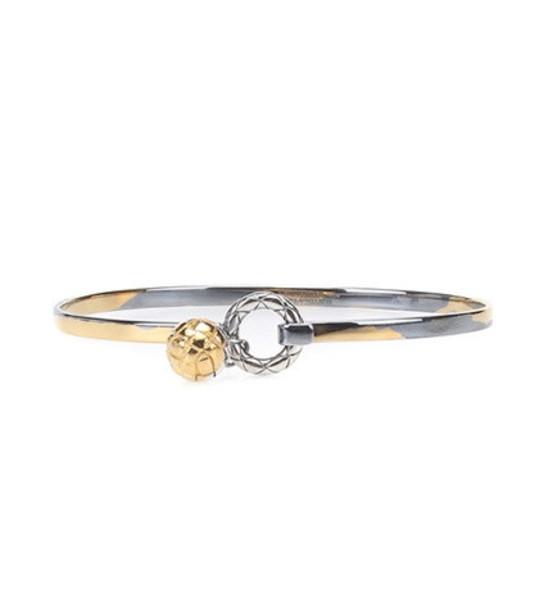 Bottega Veneta Dichotomy bracelet in silver