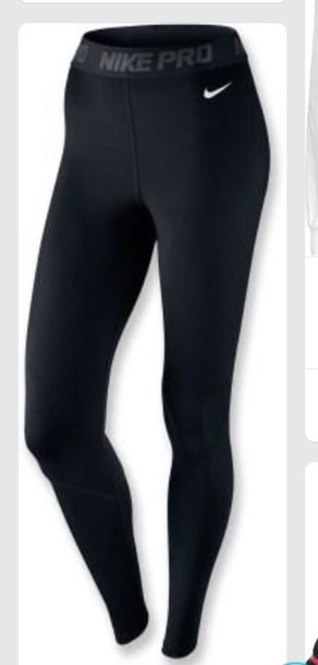 ever popular cheap prices lower price with leggings, nike, workout leggings, black and white, nike pro ...