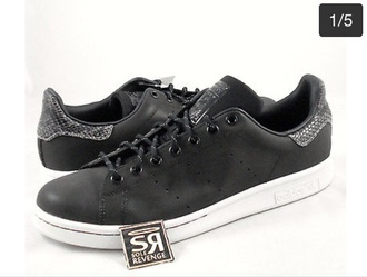 shoes adidas stan smith snake print python