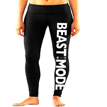 She squats clothing beast mode performance women's workout leggings at amazon women's clothing store: