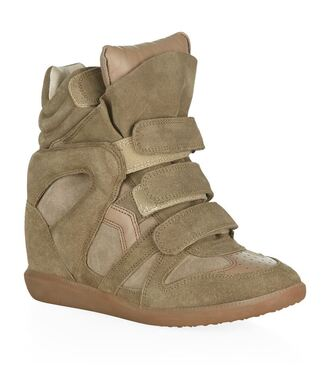 shoes bekett wedge sneakers isabel marant