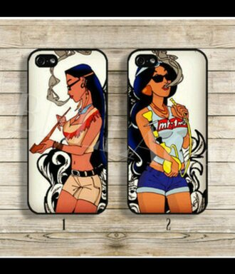 phone cover disney disney princess punk iphone cover princess weed punk rock rad smoke