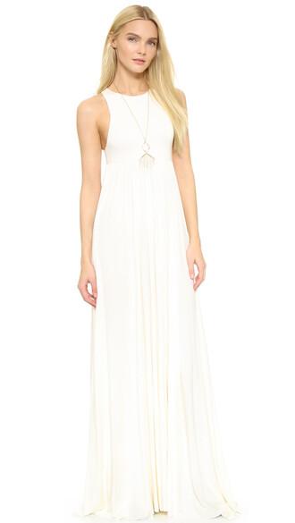dress maxi dress maxi white