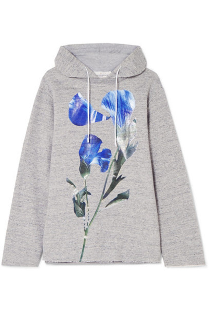 GOLDEN GOOSE DELUXE BRAND top oversized floral cotton print