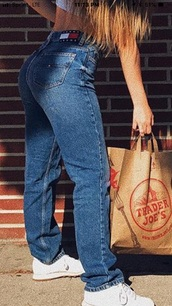 jeans,tommy hilfiger high waisted jeans