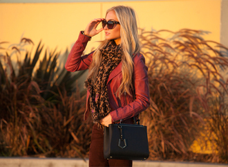 angel food jacket pants bag sunglasses scarf shoes
